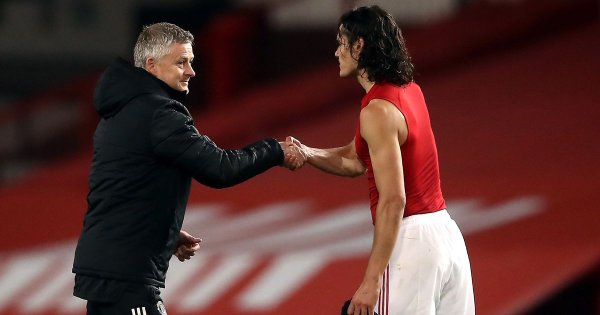 Ole Gunnar Solskjaer makes promise to Edinson Cavani to convince him to stay at Man Utd