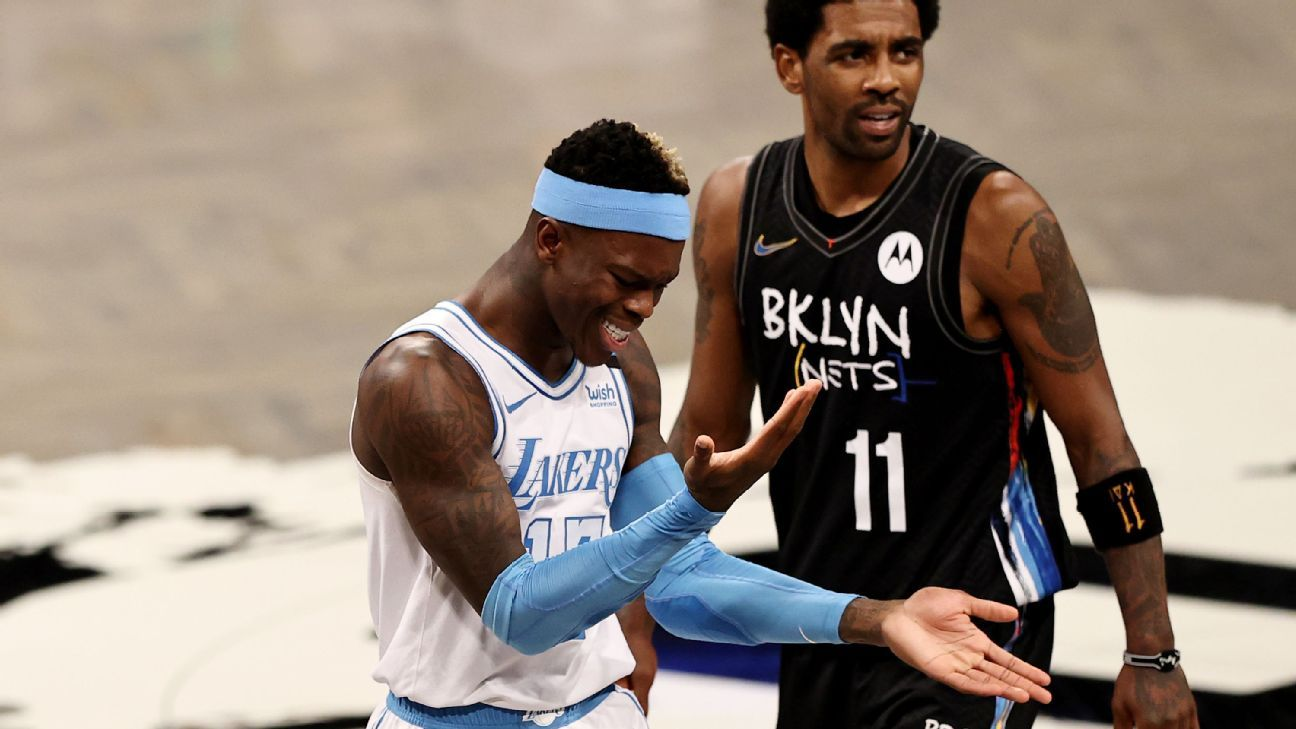 Los Angeles Lakers earn 'best win of year' vs. Brooklyn Nets, Dennis Schroder says