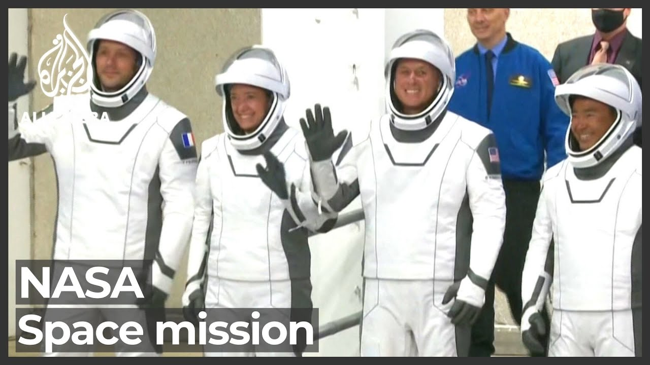 SpaceX launches four-astronaut team on NASA space mission - Al Jazeera English