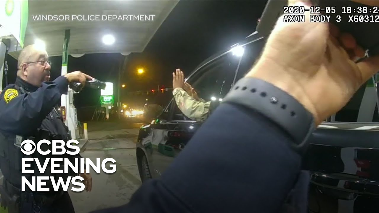 U.S. Army officer sues two Virginia cops after violent traffic stop - CBS Evening News