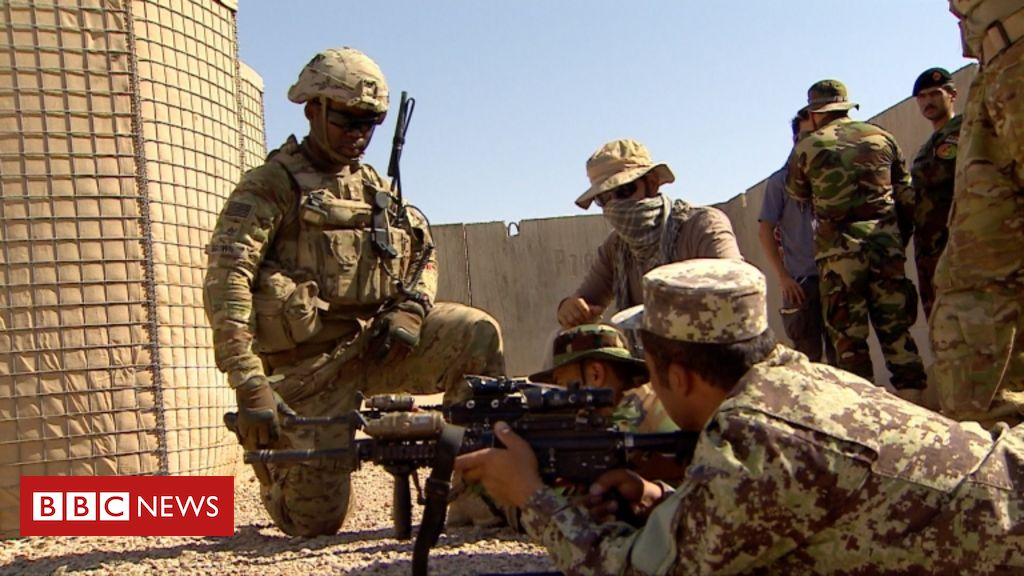 US troops 'to leave Afghanistan by 11 September' - BBC News