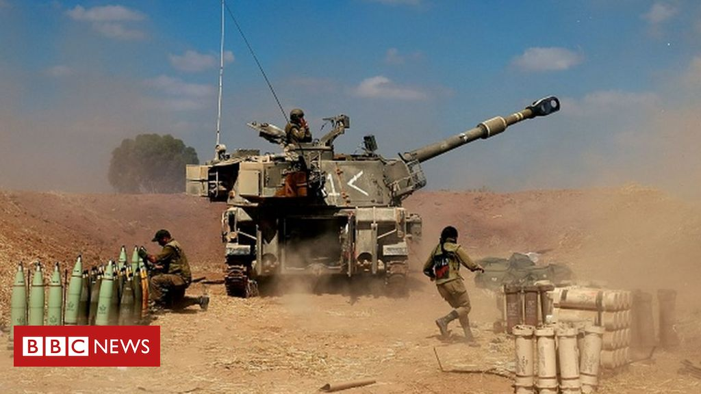 Israel intensifies attacks in Gaza as conflict enters fifth day