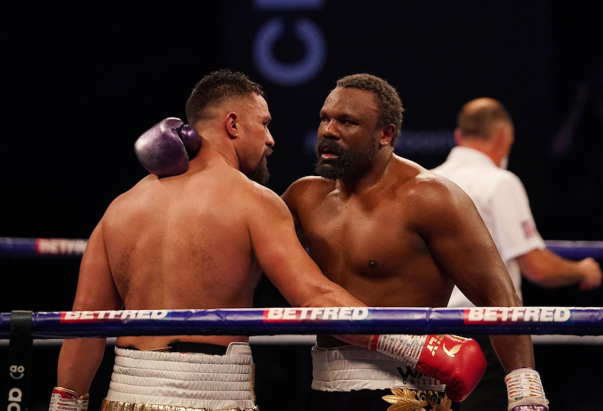 Joseph Parker rallies from early knockdown as classy work denies Derek Chisora