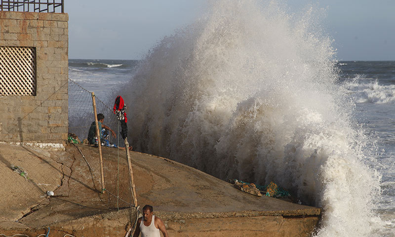 Met dept predicts rainfall, gusty winds in parts of Sindh as Cyclone Tauktae poised to intensify - Pakistan