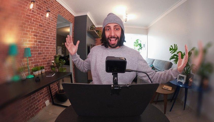 පරිගණක වල ඇති දුර්වල Webcam එක වෙනුවට GoPro කැමරාවක් භාවිතා කිරීමේ හැකියාව ලබාදීමට GoPro සමාගම කටයුතු කරයි