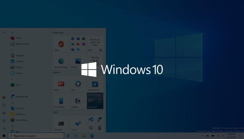 Microsoft සමාගම විසින් අලුත් Start Menu Design එකක් සමඟින් Windows 10 Insider Preview Build 20161 එක එළිදැක්වීමට කටයුතු කරයි