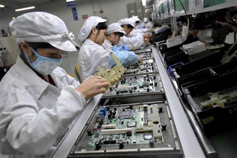 Audit cites Foxconn faults in China factories