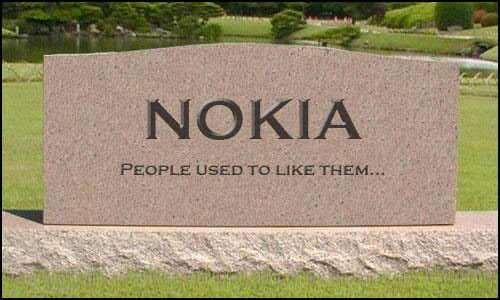 Nokia has fallen and now seeks to gamble