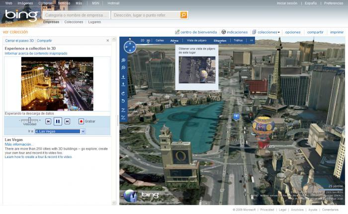 Bing Maps completes major upgrade
