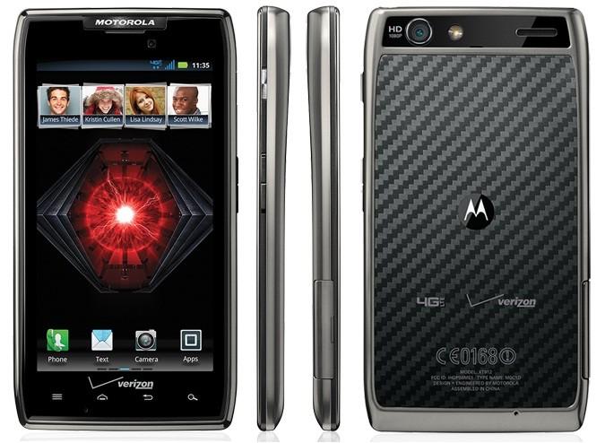 Motorola's Droid Razr Maxx unseats Apple's iPhone