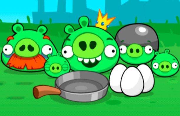 Rovio to release new version of Angry Birds, Pigs edition?