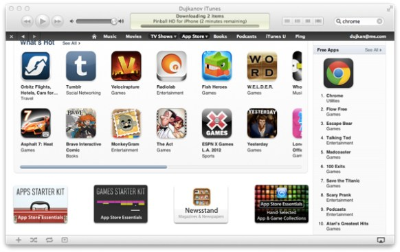 Chrome for iOS now Apple App Store's baby