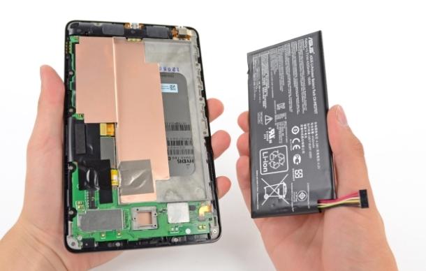 Google Nexus 7 packs a mean battery punch!