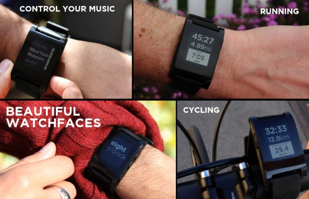 Pebble smartwatch is your smartphone from your wrist