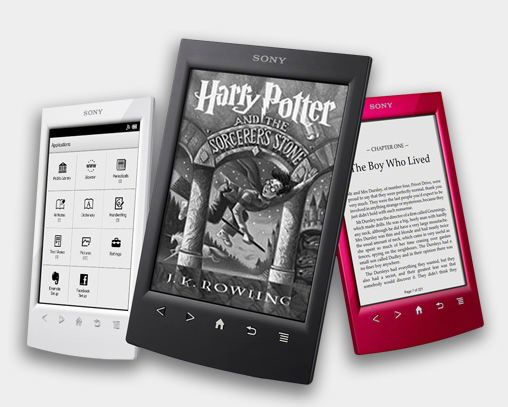 Sony ups the ante with the Sony Reader PRS-T2