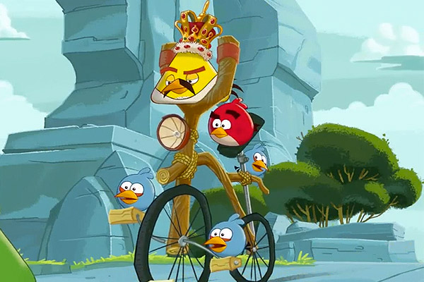 Freddie Mercury to become an Angry Bird character!