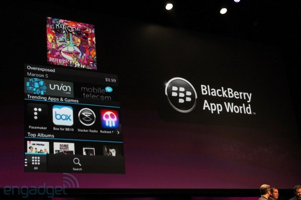 RIM gives a preview of apps to come with the BB10 OS