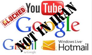 No YouTube, Gmail, Google for Iranians