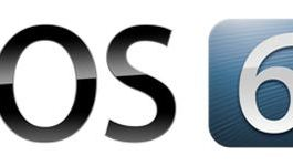 The official iOS 6 logo