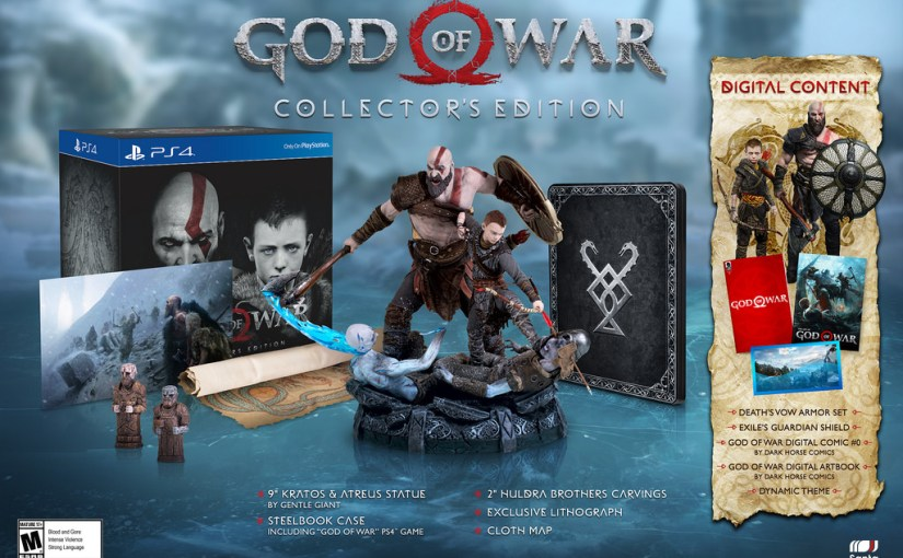 God Of War PS4's Release Date Confirmed, New Story Trailer Released