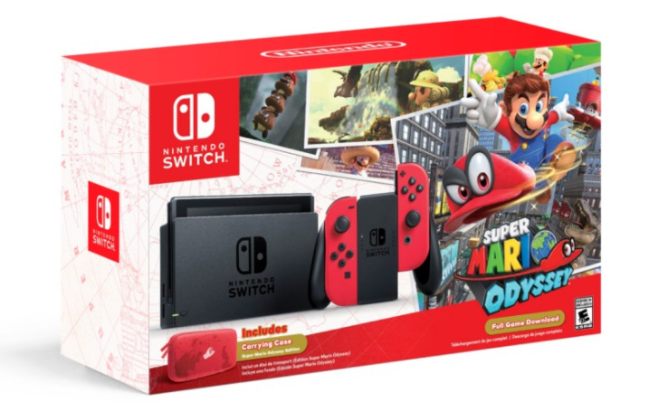 Switch and Super Mario Odyssey Bring Huge Profit and Sales to Nintendo; Switch Outsolds Wii U