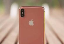 Apple's Blush Gold iPhone X