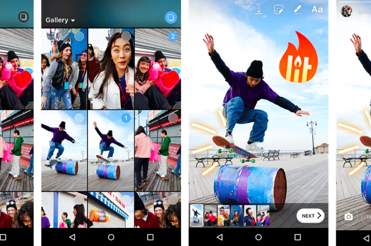 Instagram Now Lets You Share Multiple Photos And Videos on Stories