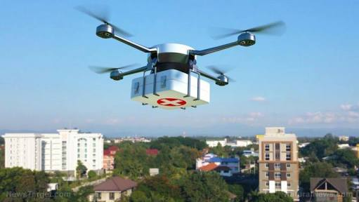 Drone Which Delivers Blood Invented