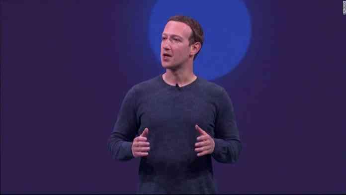 Zuckerberg at F8