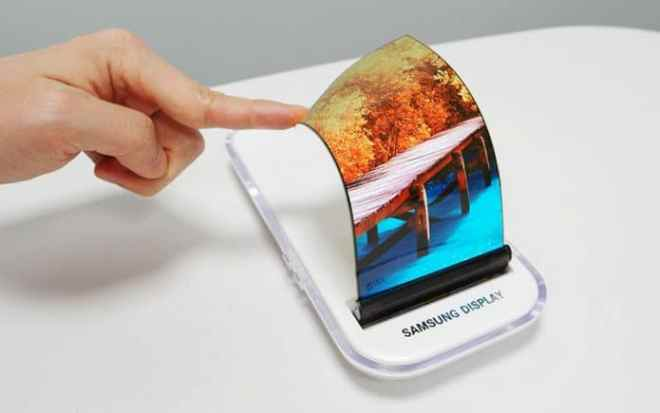 Samsung Foldable OLED Screen Concept