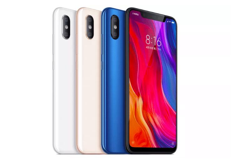 Xiaomi Announces Three New Flagship Phones Including iPhone X Copycat Mi 8