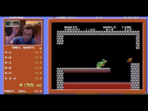 #42 Speedrunner Breaks Impossible Super Mario Bros Record Time
