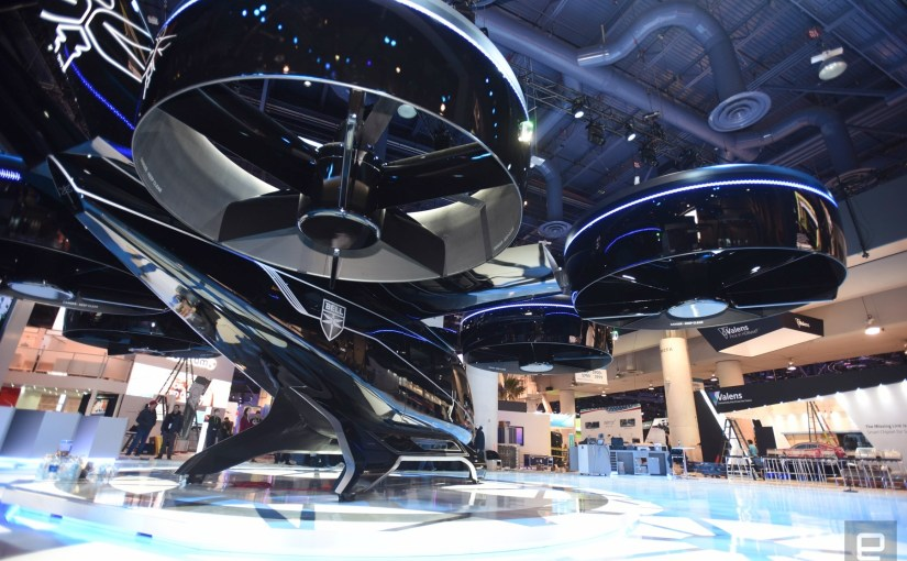 #76 CES 2019 Day 1 Recap: Air Taxis, Anthem Trailer, Gaming Monitors