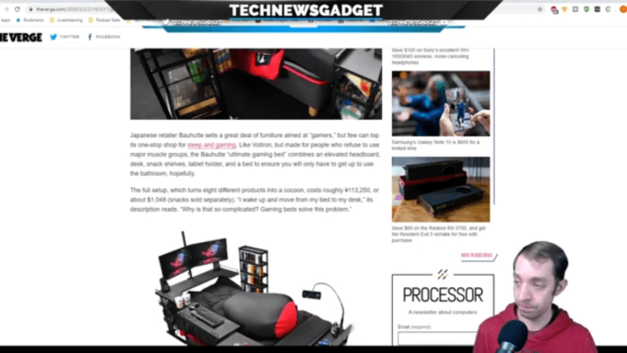 #208 Introducing The Gamer Bed