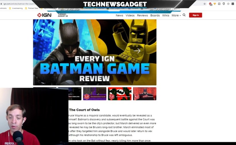 #220 The Next Batman Game