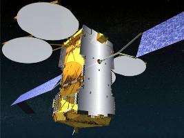 Artist view of Eutelsat Ka-Sat (Astrium)