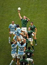 Argentina-Ireland rugby match (Paolo Camera/Flickr)