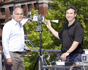 Shivendra Panwar and Ted Rappaport (NYU-Poly)