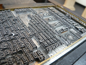 Printing plate (purdman1/Flickr)