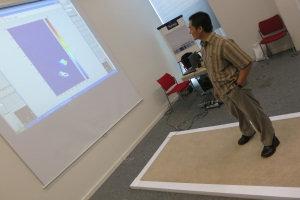 Enhanced carpet display system (University of Manchester)