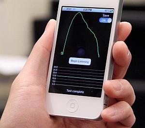 SpiroSmart app (Shwetak Patel, University of Washington)