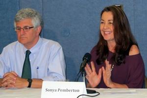 Paul Offit and Sonya Pemberton
