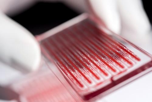 Microfluidic cell device
