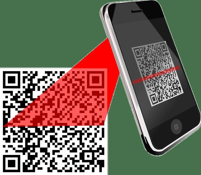 QR codes graphic