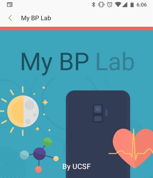 My BP Lab app