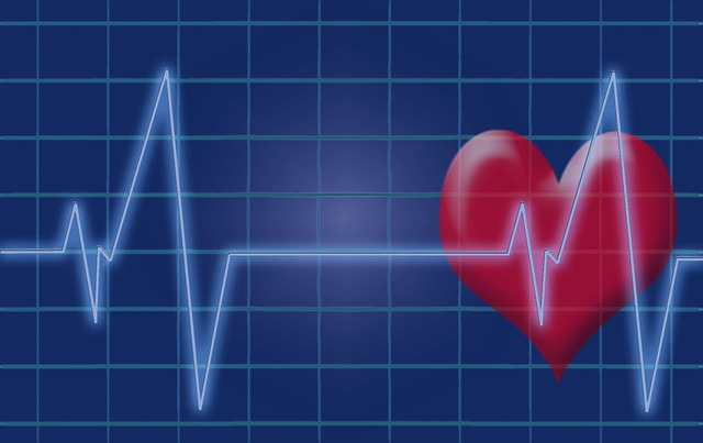 Heartbeat graphic