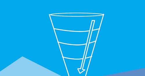 Sales conversion funnel