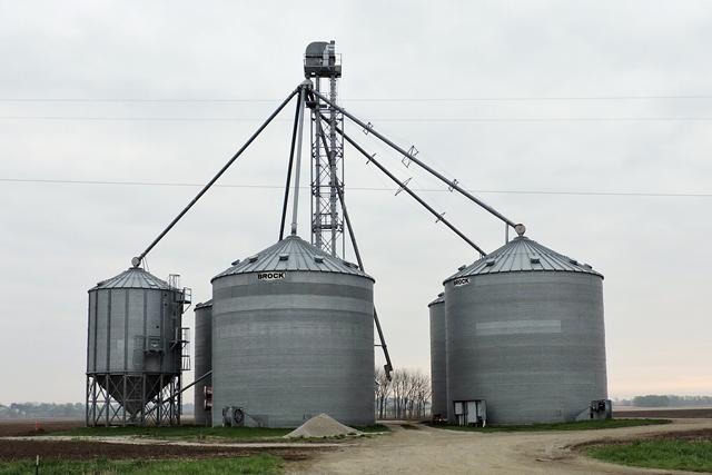 Grain storage structure