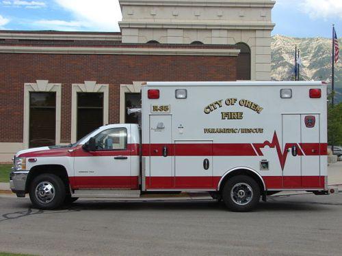 Ambulance in Orem, Utah