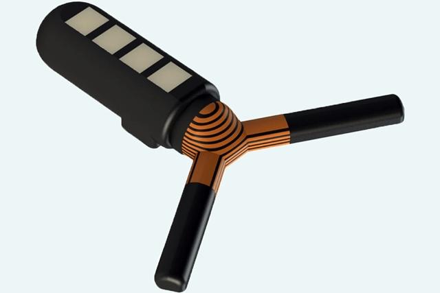 Wireless ingestible sensor